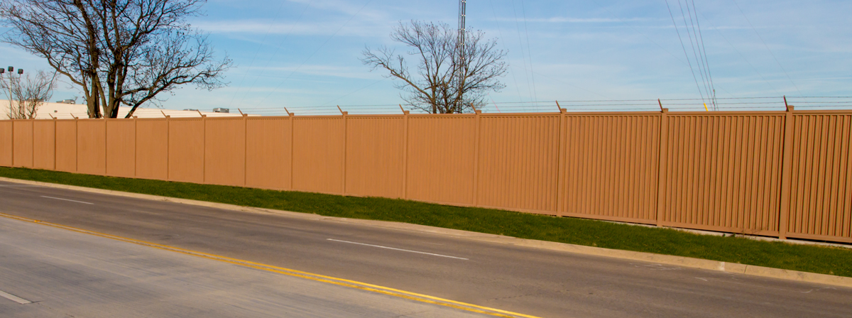 Security fence photo gallery